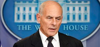 John Kelly 'stunned' over Trump call criticism