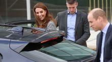 Kate überspielt Missgeschick mit Bravour