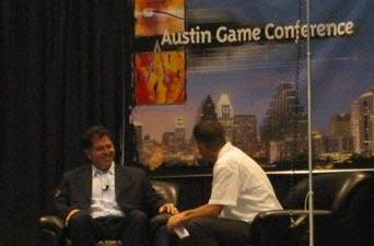 Michael Dell at the Austin Game Conference