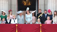 Meghan Markle makes debut Buckingham Palace balcony appearance at Trooping the Colour 2018