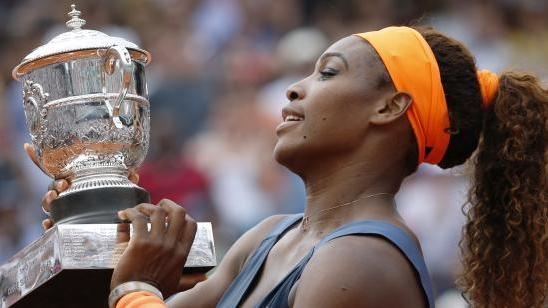 VIDEO. Serena Williams, le sacre d'une revenante à Roland-Garros