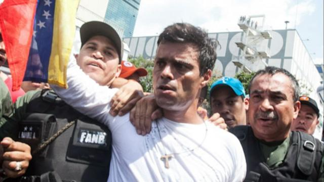 Venezuelan Opposition Leader's Arrest Intensifies Protests