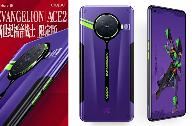 Oppo's Evangelion phone is surprisingly faithful to the anime