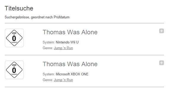 Thomas Was Alone rated in Germany for Xbox One, Wii U