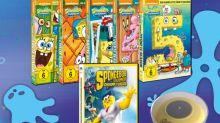Gewinnspiel: Spongebob Schwammkopf - Schwamm aus dem Wasser