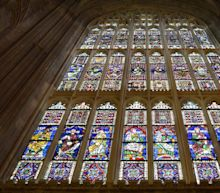 Canterbury Cathedral has the oldest stained glass windows in Britain