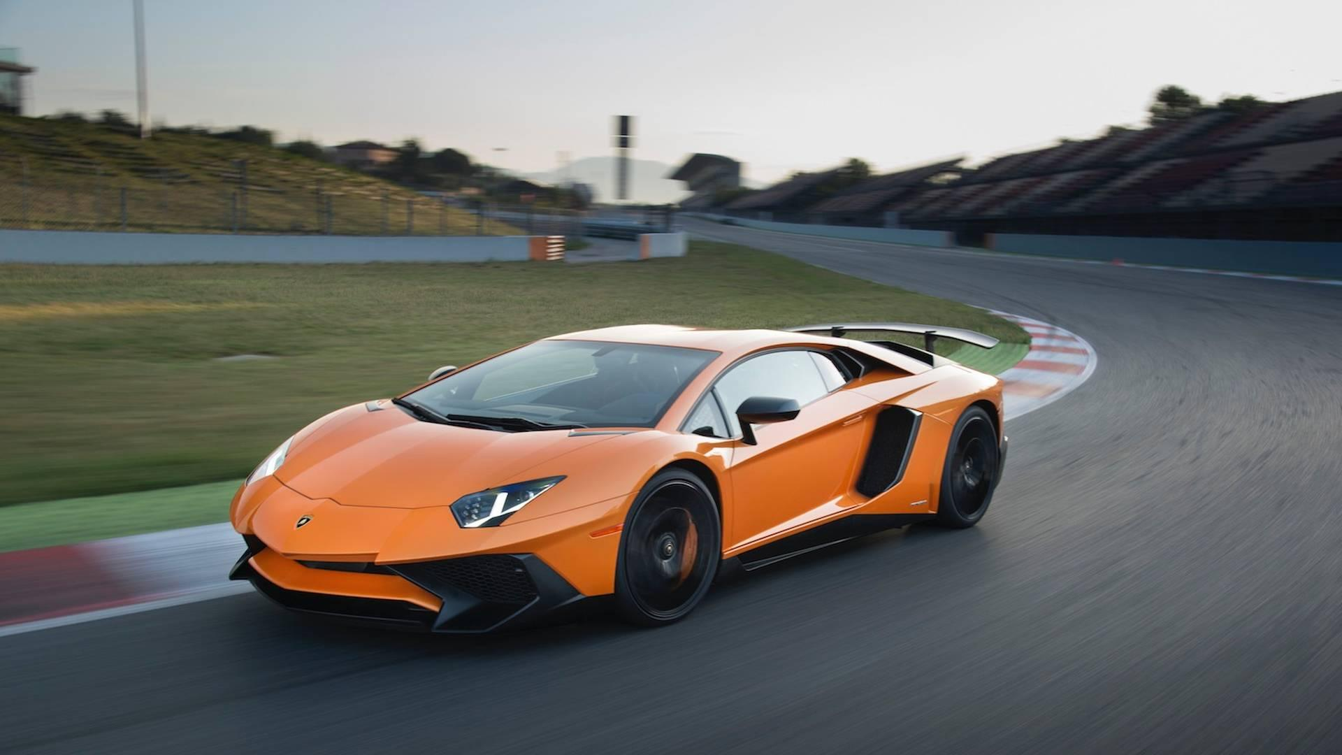 """<p>The first <a href=""""https://www.motor1.com/lamborghini/"""" rel=""""nofollow noopener"""" target=""""_blank"""" data-ylk=""""slk:Lamborghini"""" class=""""link rapid-noclick-resp"""">Lamborghini</a> in the list is the Aventador with its 750 hp (559 kW) of power, which recorded an impressive time in 2015, with Marco Mapelli at the wheel.</p>"""