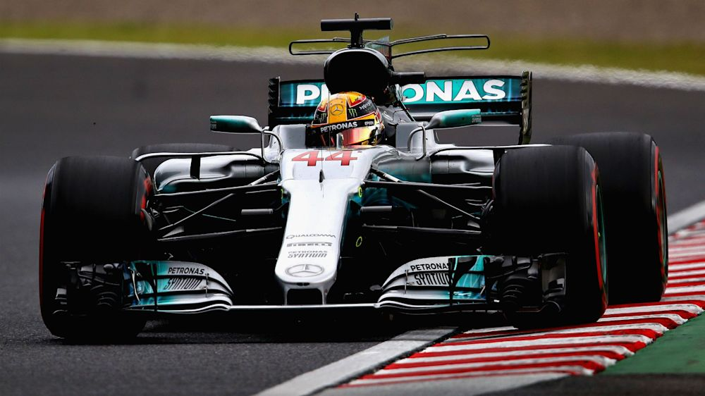 Dominant Hamilton claims Suzuka pole, grid penalties for Bottas, Raikkonen