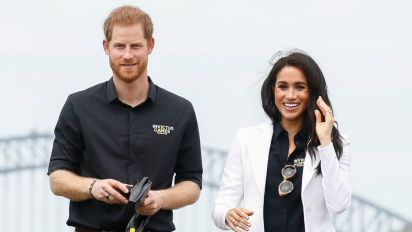 Prince Harry and Meghan Markle Have a Blast Playing With Kids at Invictus Games
