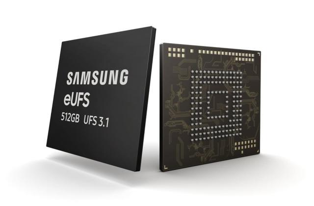 Samsung's latest storage chip will make flagship smartphones faster