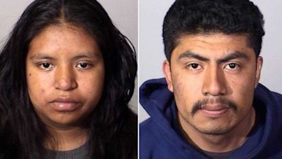 Newborn's disturbing death leads to couple's arrest