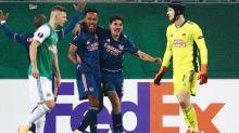 Foot - C3 - Ligue Europa: Arsenal arrache la victoire contre le Rapid Vienne