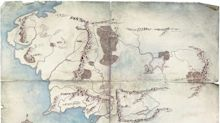 Amazon's first 'Lord of the Rings' teaser is a minimal Middle-earth map