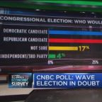 CNBC Survey: Wave election in doubt