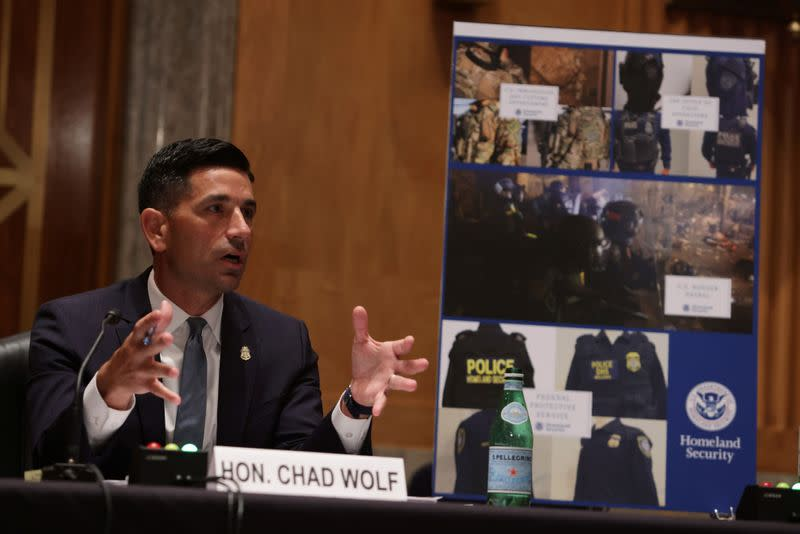 U.S. Senate Homeland Security and Governmental Affairs conducts oversight hearing on 'DHS Personnel Deployments to Recent Protests'