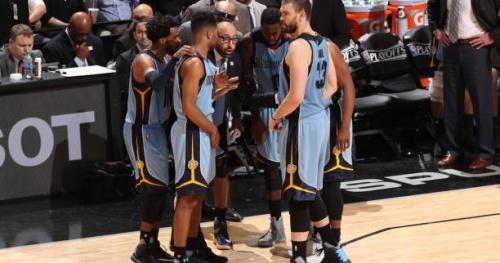 Basket - NBA - Les joueurs des Grizzlies vont payer l'amende de leur coach