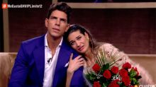 Estela (GH VIP 7) recibe la visita de Kiko, Sofía y su marido Diego y se desmonta su mentira