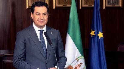 Moreno promete cumplir los acuerdos con Vox y ensalza su aportación a la estabilidad