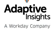 Adaptive Insights is recognized as an April 2019 Gartner Peer Insights Customers' Choice for Cloud Financial Planning and Analysis Solutions