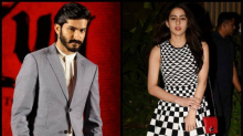 Harshvardhan Kapoor and Sara Ali Khan clicked during a dinner date