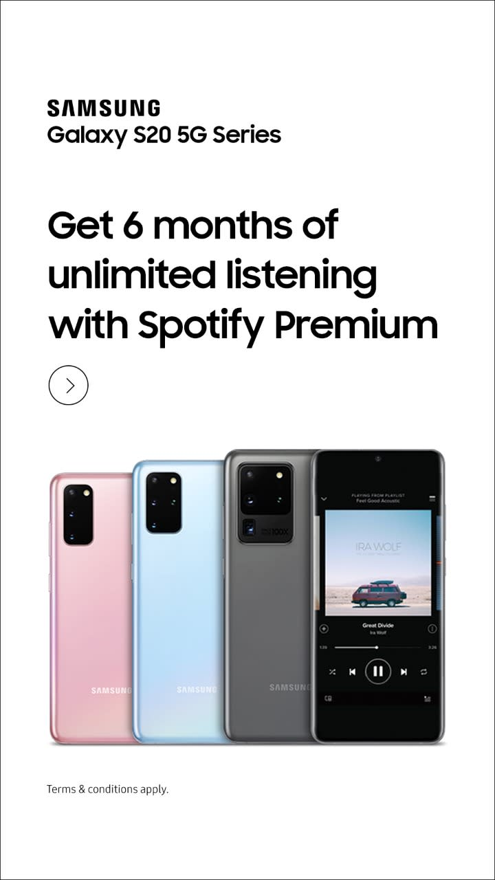 Get unlimited listening with Spotify Premium