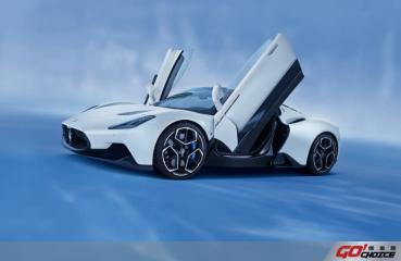 Maserati MC20榮登全球汽車節「2021年度最美超跑」