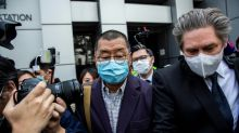 Hong Kong media tycoon Jimmy Lai arrested over pro-democracy rally