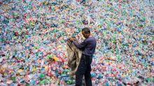 Isola di spazzatura del Pacifico grande 5 volte e mezzo l'Italia