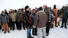 U.S. veterans, tribe elders join forces in pipeline protest
