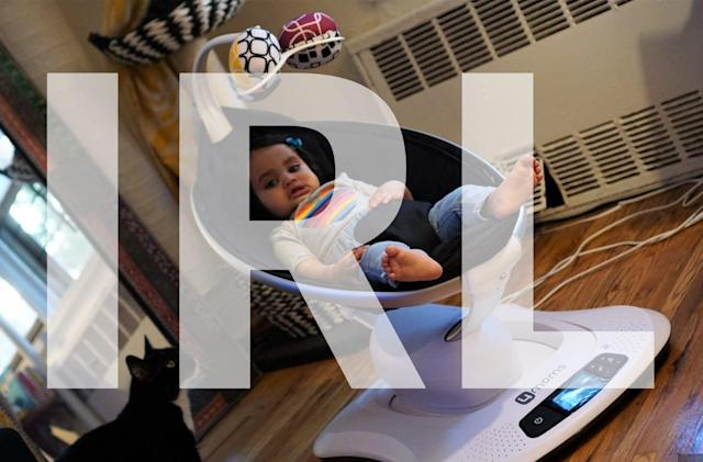 What we're buying: The MamaRoo automatic baby swing