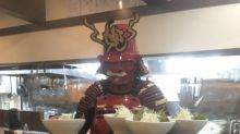 Don't be shocked if you see a 'samurai' in this ramen shop in Hokkaido