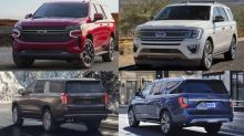 2021 Chevy Tahoe, Suburban vs. 2020 Ford Expedition: How they compare on paper