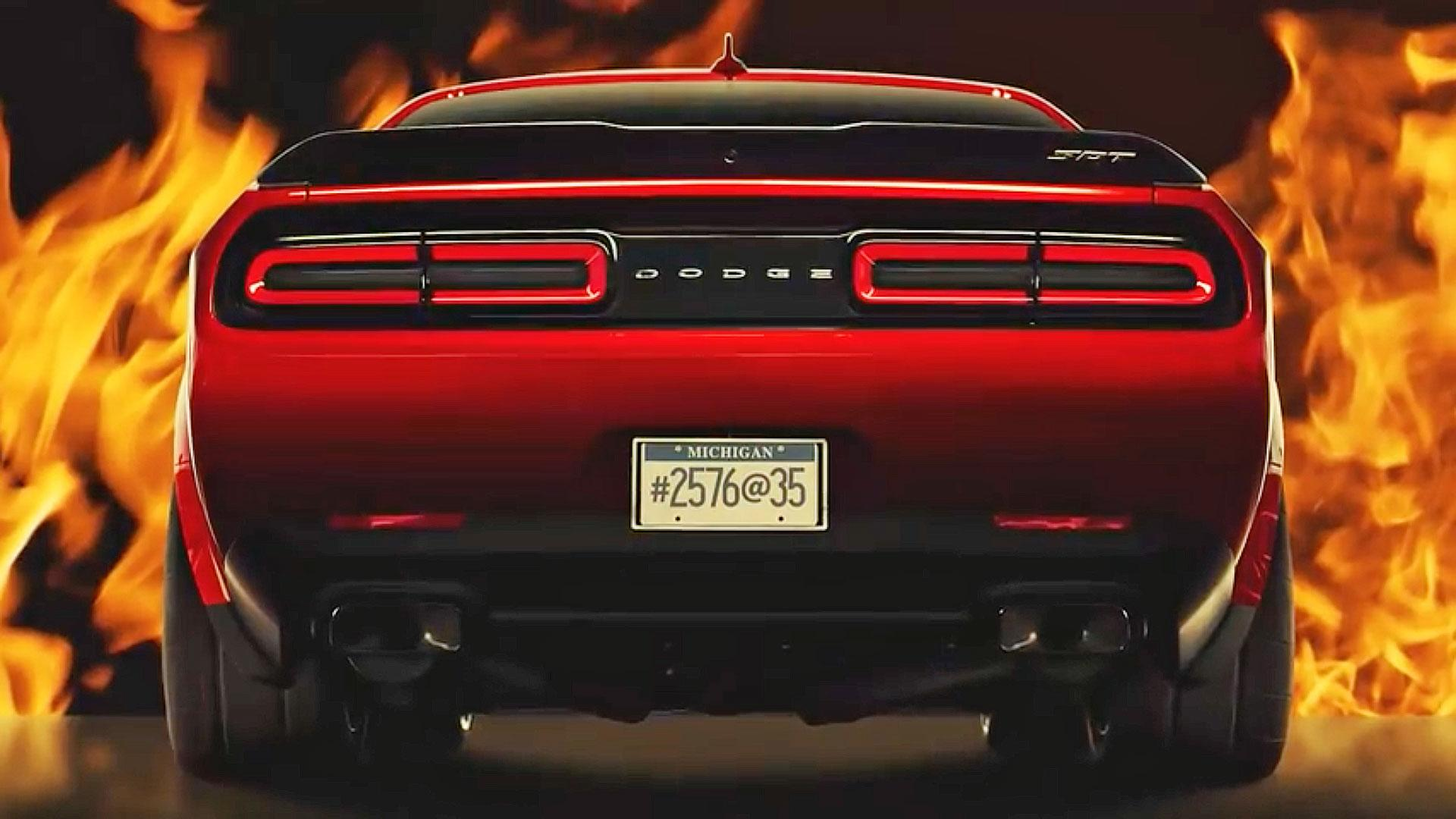 Will the Dodge Challenger Demon Only Have One Seat?
