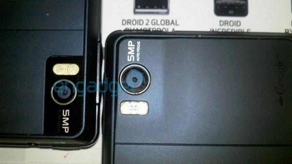 Droid 2 Global GSM bands locked, camera bulge added to case