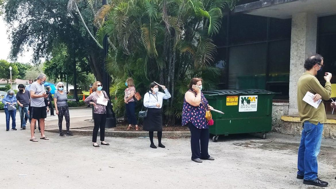 They Don't Trust the Mail. They Lined Up to Vote in Florida.