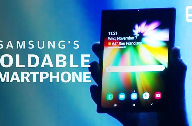 Samsung debuts foldable 'Infinity Flex' phone display