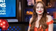 Lindsay Lohan Just Posted a Nude Throwback Photo on Instagram and People Are Legit Freaking Out