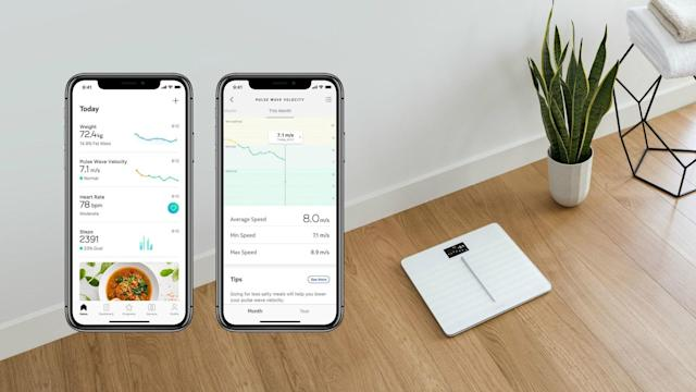 Withings restores its cardio health feature on scales in Europe