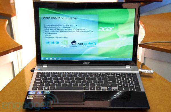 Acer Aspire V3 coming to Japan for $1,100 with right processor, wrong ppi
