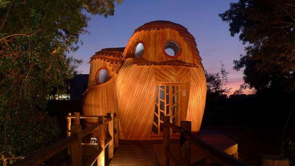 Owl cabins in southwestern France attract fun-loving travelers