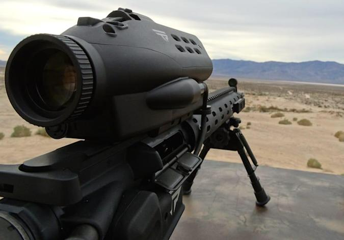 Hackers can crack the self-aiming rifle to change its target