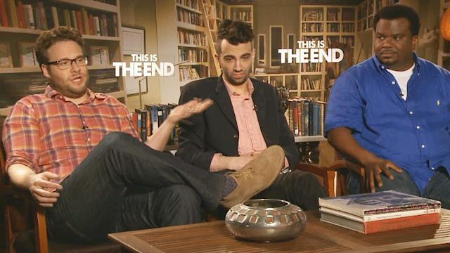 Friendly collaboration, ribbing in 'This Is The End'