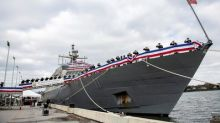 U.S. Navy Commissions Littoral Combat Ship 11 (Sioux City)