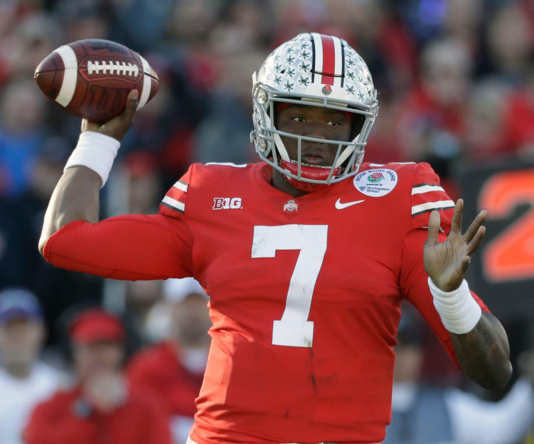 0f35060625e NFL mock draft  Four quarterbacks go Round 1