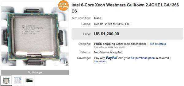 Leaked Intel Core i9 chip makes its way to eBay?