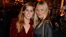 Princess Beatrice Hung Out With Kate Moss, Confirming Her Status as Britain's Busiest Socialite