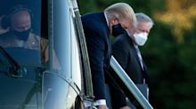 Trump not on oxygen as he recovers from COVID-19, his doctor says
