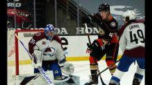 Jonas Johansson earns first shutout as Avalanche blank Ducks