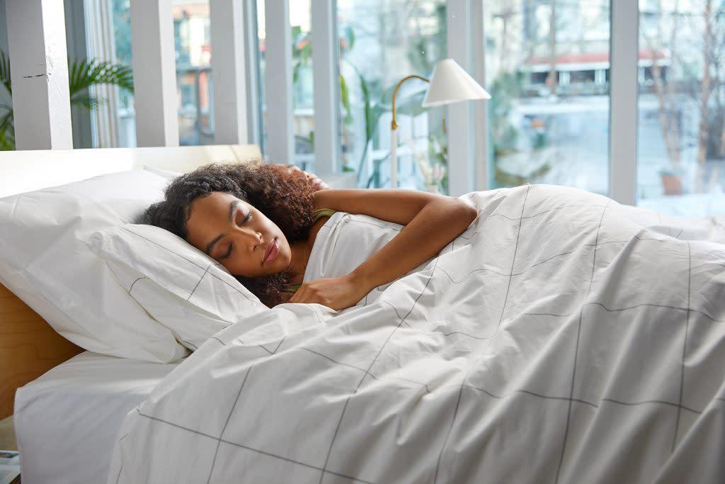 Brooklinen's new weighted comforter