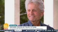 WATCH: Michael Douglas Reveals His 'Great British Attitude' To Battling Cancer
